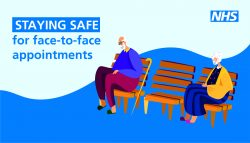 staying safe for face to face appointments