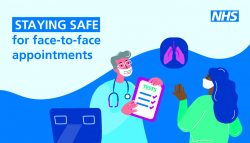 stay safe at face to face appointments