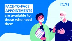 face to face appointments