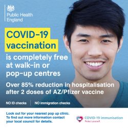 Covid 19 vaccinations are completely free